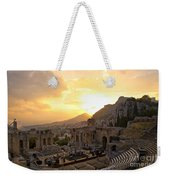 Roman Theater In Taormina IIi Weekender Tote Bag