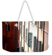 Roman Windows Weekender Tote Bag