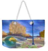 Romance At Elizabeth Park Bridge Weekender Tote Bag