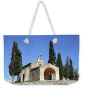 Romanesque Chapel Saint Sixte  Weekender Tote Bag