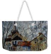 Romanesque Church  Weekender Tote Bag