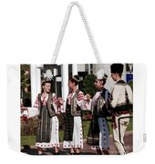 Romanian Beauty Weekender Tote Bag