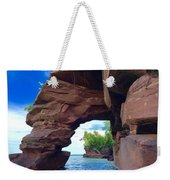 Roman's Point Arch Weekender Tote Bag