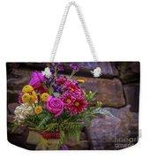 Romantic Bouquet 3 Weekender Tote Bag