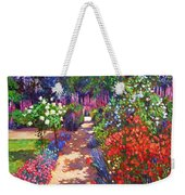 Romantic Garden Walk Weekender Tote Bag