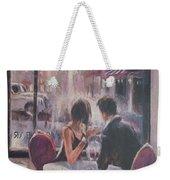 Romantic Meeting 2 Weekender Tote Bag