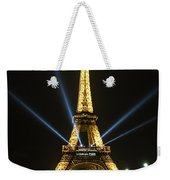 Romantic Night In Paris Weekender Tote Bag