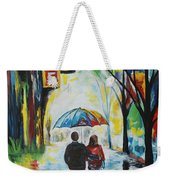 Romantic Night Out Weekender Tote Bag