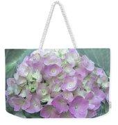 Romantic Pink Hydrangea Weekender Tote Bag