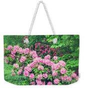 Romantic Rhododendrons Weekender Tote Bag