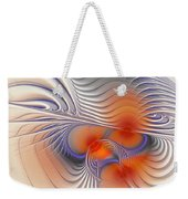 Romantic Sensual Lines Weekender Tote Bag