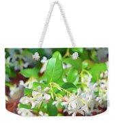 Romantic Skies Jasmine In Bloom Weekender Tote Bag
