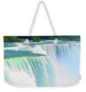 Romantic Skies Niagara Falls 2  Weekender Tote Bag