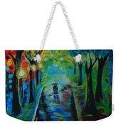 Romantic Stroll Weekender Tote Bag