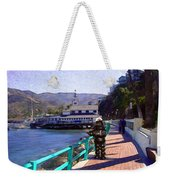 Romantic Stroll Weekender Tote Bag