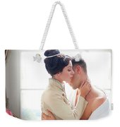 Romantic Victorian Couple Weekender Tote Bag