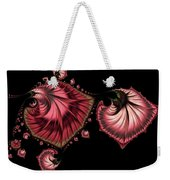 Romantically Jewelled Abstract Weekender Tote Bag