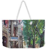 Rome A Small Talk By Barbiere Mario Weekender Tote Bag