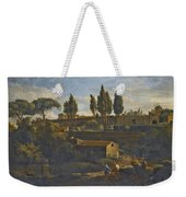 Rome A Terraced Garden Probably That Of The Villa Silvestri Rivaldi  Weekender Tote Bag