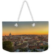 Rome At Sunset Weekender Tote Bag