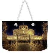 Rome Castel Sant Angelo Weekender Tote Bag by Joana Kruse