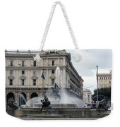 Rome Italy Fountain  Weekender Tote Bag