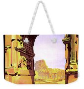 Rome, Italy, Rome Express Railway Weekender Tote Bag