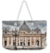 Rome Italy St. Peter's Basilica Weekender Tote Bag