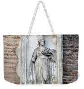 Rome Italy Statue Weekender Tote Bag