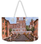 Rome-piazza Di Spagna Weekender Tote Bag