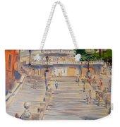 Rome Piazza Di Spagna Weekender Tote Bag