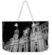 Rome - Piazza Navona - A View 3 Weekender Tote Bag