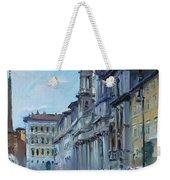 Rome Piazza Navona Weekender Tote Bag