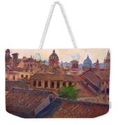 Rome Seen From Campidoglio Weekender Tote Bag