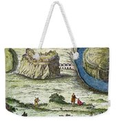 Rome: Seven Hills, 18th C Weekender Tote Bag