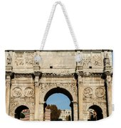 Rome - The Arch Of Constantine 3 Weekender Tote Bag