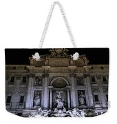 Rome, Trevi Fountain At Night Weekender Tote Bag