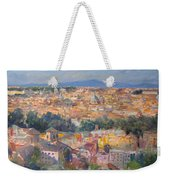 Rome View From Gianicolo Weekender Tote Bag