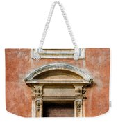 Rome Windows And Balcony Textured Weekender Tote Bag