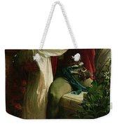 Romeo And Juliet Weekender Tote Bag by Sir Frank Dicksee