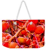 Romney Red Weekender Tote Bag