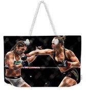 Ronda Jean Rousey  Weekender Tote Bag