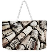 Roof Tile Abstract Weekender Tote Bag