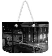 Rooftop Court Weekender Tote Bag