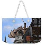 Rooftop Dragon Weekender Tote Bag