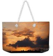 Rooftop Sunset 3 Weekender Tote Bag