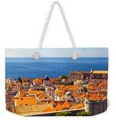 Rooftops Of Old Town Dubrovnik Weekender Tote Bag