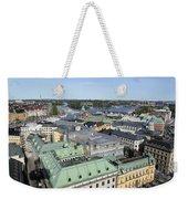 Rooftops Of Stockholm Weekender Tote Bag