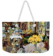 Room Of Flowers, 1894 Weekender Tote Bag