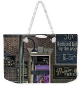 Rooms For Rent 25 Cents Signage Weekender Tote Bag